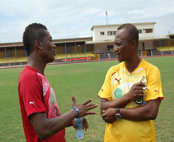 Image result for kwesi appiah and asamoah gyan
