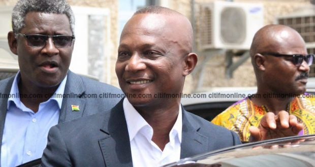 PHOTOS: Kwesi Appiah's triumphant arrival for second stint in charge of Black Stars