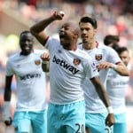 Video: Watch Ghana ace Andre Ayew scoring in West Ham's 2-2 draw at Sunderland