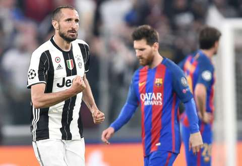 Video: Kwadwo Asamoah's Juventus hammer Barcelona 3-0 in Champions League