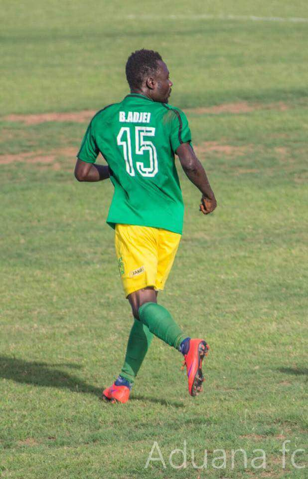 Aduana Stars striker Bright Adjei confident of beating WAFA to the Ghana league title