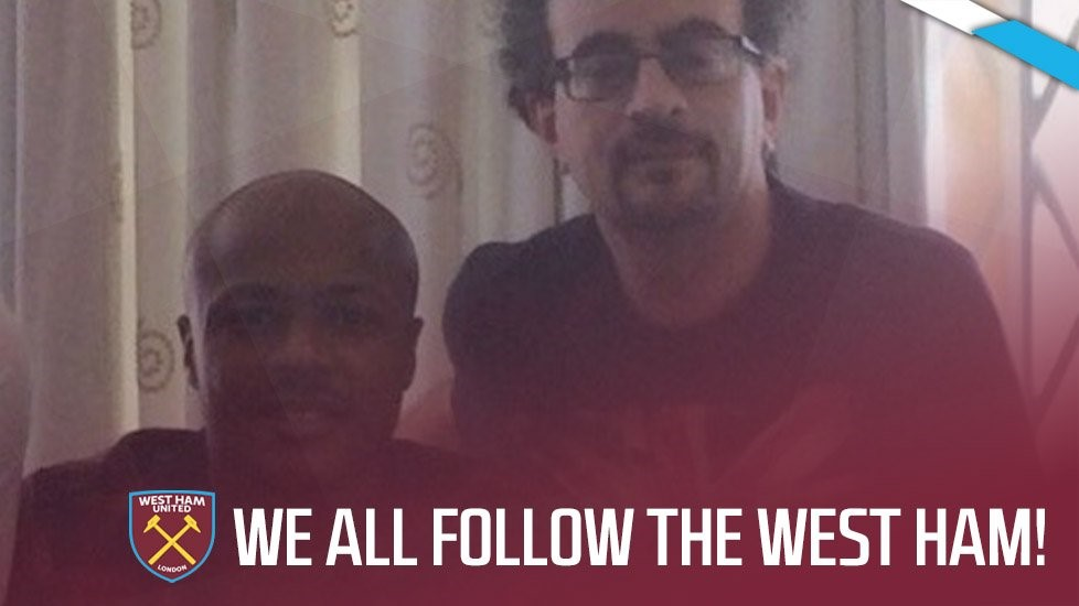 How Jon Benjamin is spreading the West Ham way throughout Andre Ayew's homeland...