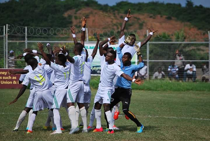 Match Report: Elmina Sharks 2-1 Bechem United- Sharks makes it four out of four as resurgent run continues