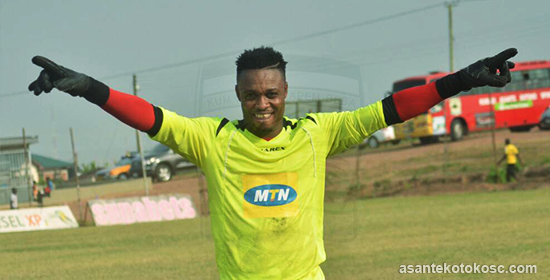 Goalkeeper Ernest Sowah starts training with Asante Kotoko youth side