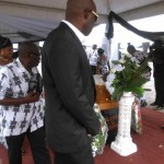 Ghana FA officials pay final tribute to coach Sam Arday as legend is buried