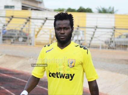 AshantiGold's Hans Kwofie wins goal king after scoring four against Champions Aduana Stars