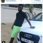 SHOCKER: Ghanaian footballer Bernard Morrison arrested in South Africa over stolen car