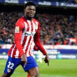 Ghana midfielder Thomas Partey in 18-man Atletico squad to face Leicester City in Champs Lge