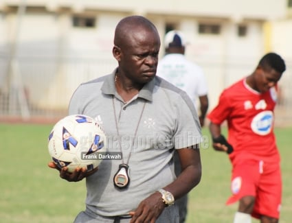 Inter Allies coach Prince Owusu slams officiating in Bechem United loss