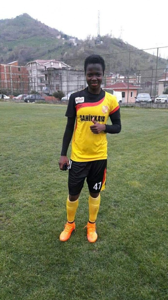 Ghana female football star Portia Boakye completes move to Turkish side Trabzon Idmanocagi