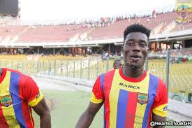 Hearts of Oak's Winful Cobbinah wants to repay the faith shown in him by Hearts of Oak