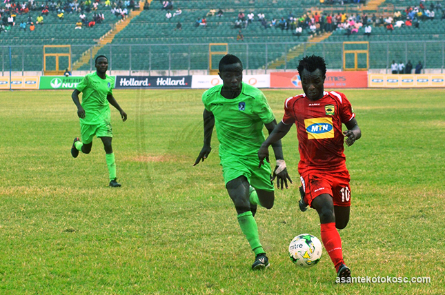 Match Report: Ebusua Dwarfs 0-1 Asante Kotoko - Mahama strike secures back-to-back wins