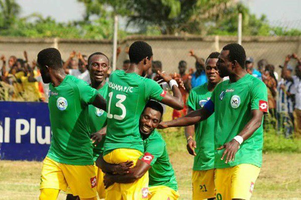 Match Report: Aduana Stars 2-0 Ebusua Dwarfs- Ogya Boys league title dream back on track