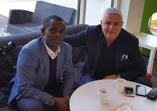 Accomplished Dreams FC chief Jiji Alifoe arrives in Sweden to explore business opportunities
