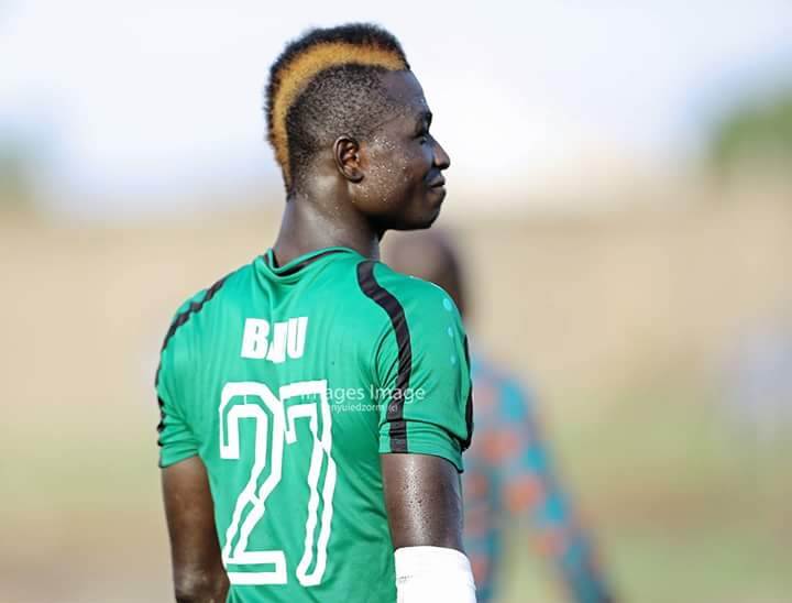 Aduana Stars defender Anokye Badu caps captivating hairstyle with Man of the Match award