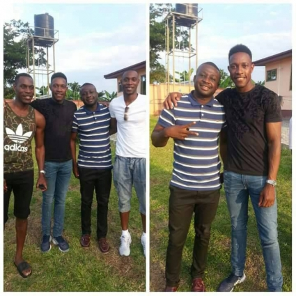 Arsenal forward Danny Welbeck spends holidays in native Ghana