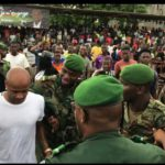PHOTOS: Andre Ayew mobbed by thousands on visit to Guinea Conakry