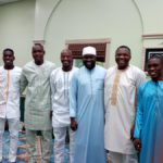 PHOTOS: Black Stars Muslim contingent celebrates Eid-ul Fitr in Houston