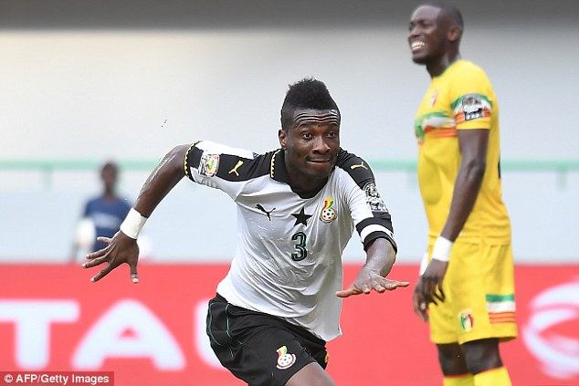 Asamoah Gyan among top FIVE African goalscorers in International Games