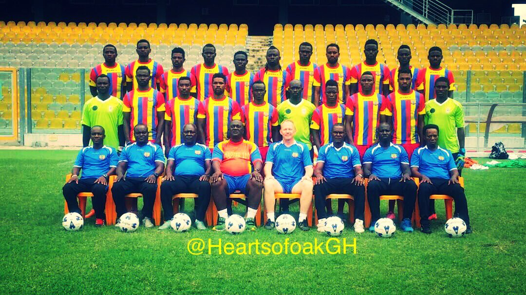 Hearts of Oak players owed FOUR months salary
