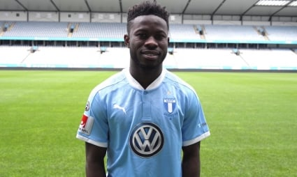 Malmo midfielder Mattias Svanberg not daunted by new signing Kingsley Sarfo