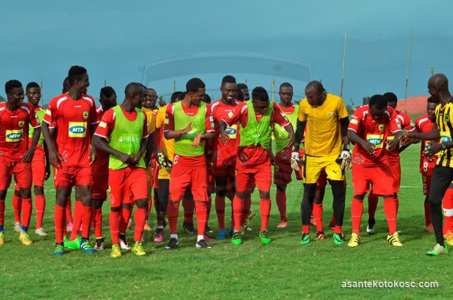 VIDEO: Asante Kotoko players in massive celebrative mood after important victory against Dwarfs