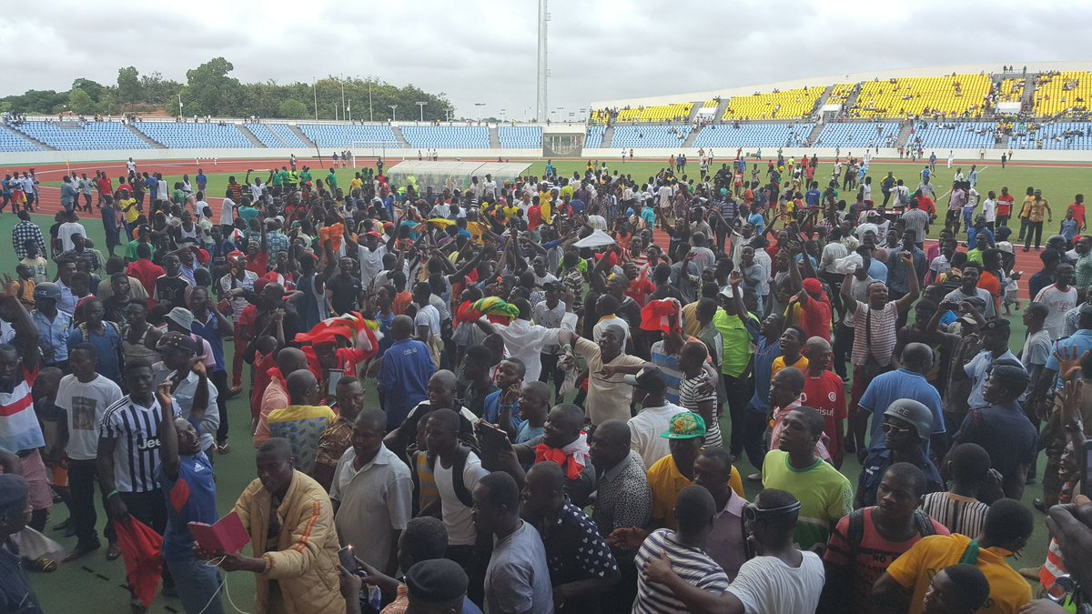 VIDEO: Kotoko fans go agog after Ebusua Dwarfs win