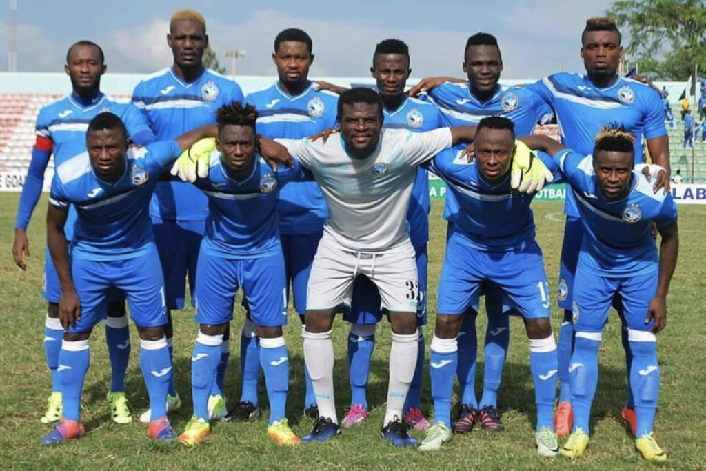 Enyimba FC goalie Fatau Dauda counting on experience to overcome Bidvest Wits in Confederation Cup