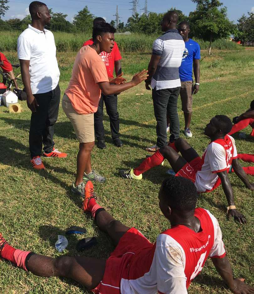 Brong Ahafo Division Two League Zone 1A: DC United female coach Mavis Anane Appiah wins first match in-charge