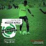 Home-grown talent Maxwell Arthur continues to shine for Dreams FC
