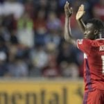 Ghana striker David Accam reaches new heights with first MLS hat trick