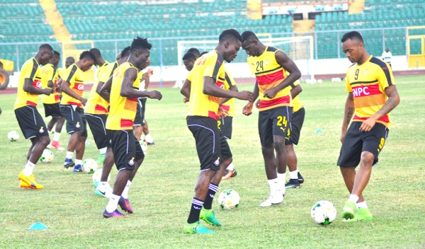 Black Stars gear up for two friendlies with twenty-one players in camp