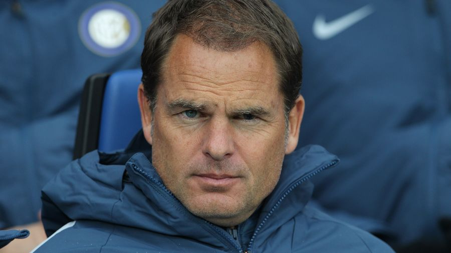 Dutch legend Frank De Boer set to coach Jeff Schlupp at Crystal Palace