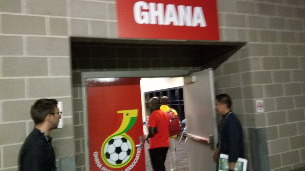 PHOTOS: Black Stars staff inspects NRG Stadium ahead of Mexico friendly