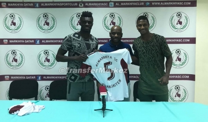 Ghanaian forward Kwame Karikari pens a three-year deal with Qatari side Al-Markhiya