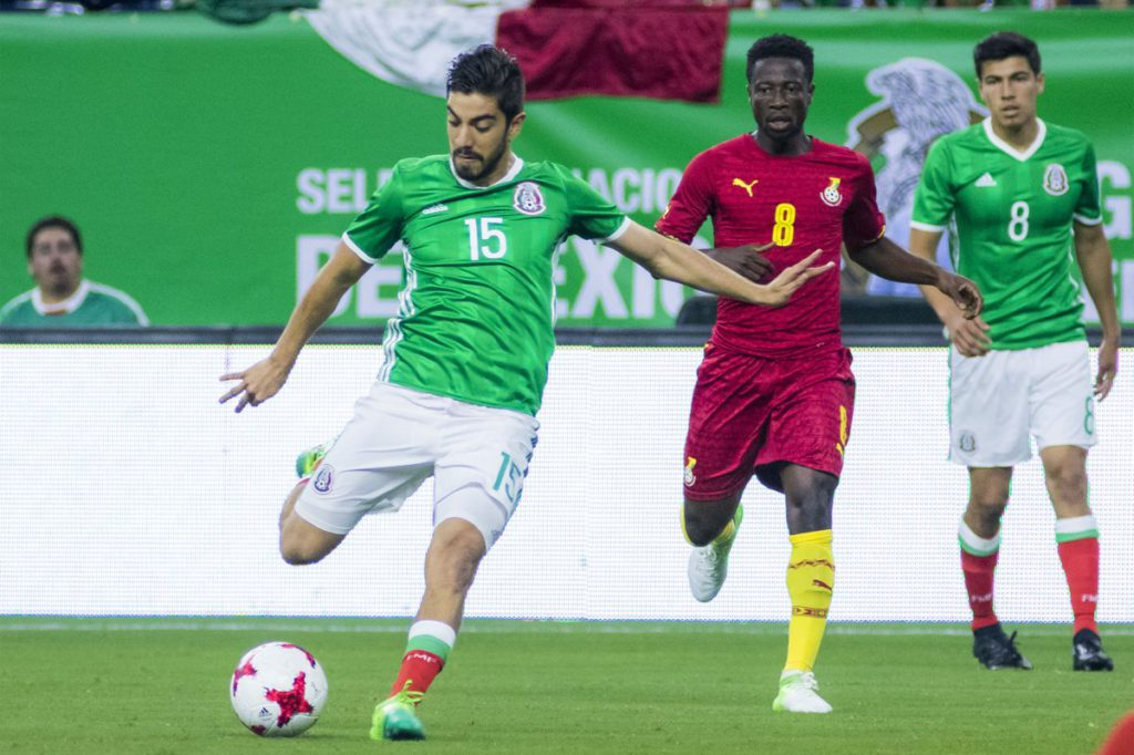 Ghana suffer Mexico defeat in friendly in Houston