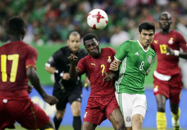 Ghana coach accuses MLS referee of using f-word against player in friendly against Mexico