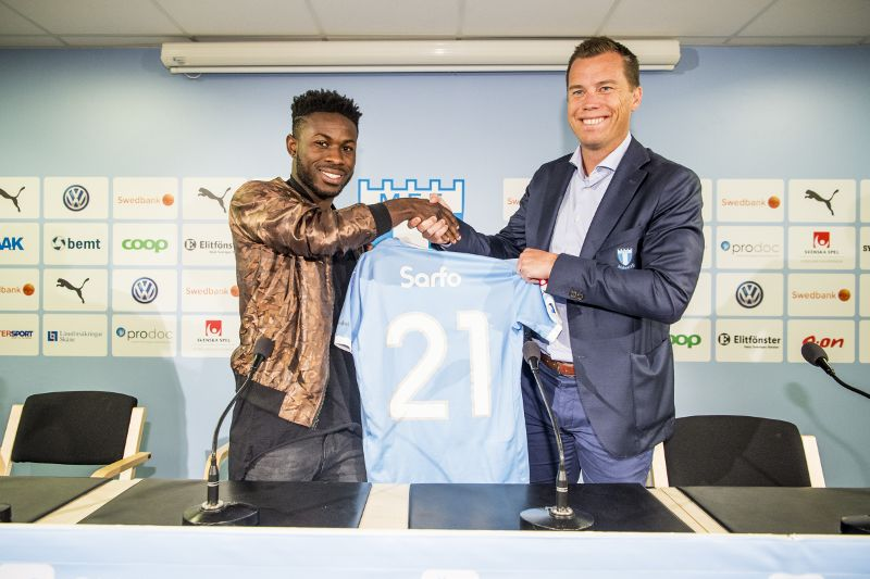 Ghanaian midfielder Kingsley Sarfo is third most expensive signing in Malmo history