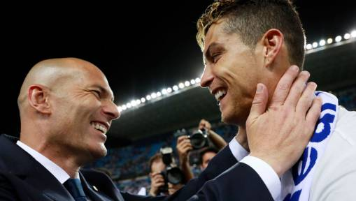 Real Fans Breathe Sigh of Relief as Zinedine Zidane Confirms Cristiano Ronaldo Will Be Staying