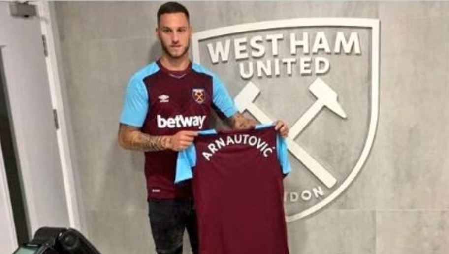 West Ham Complete the Signing of Stoke City Forward Marko Arnautovic on 5-Year Deal