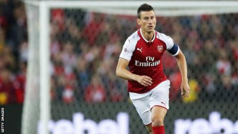 Laurent Koscielny: Arsenal defender has no desire to leave club
