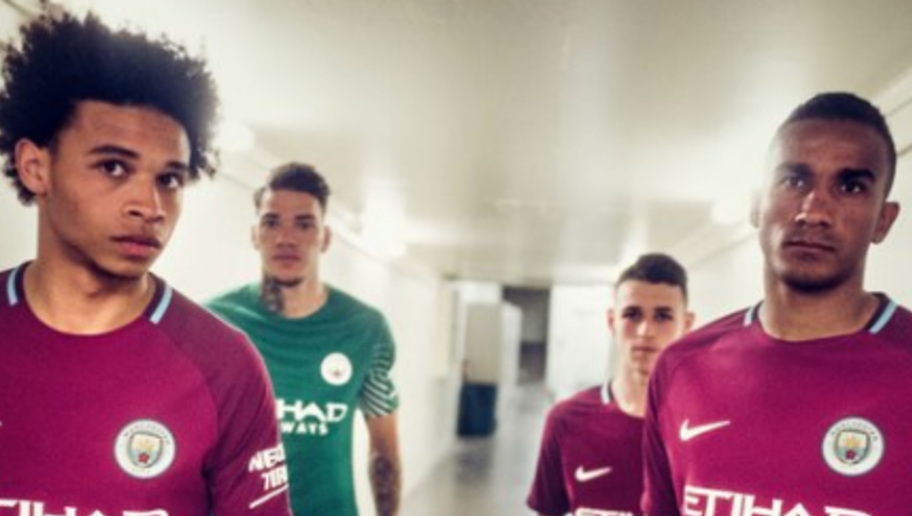 PHOTO: Man City Make Another Announcement But This Time it's to Unveil Striking New Away Kit