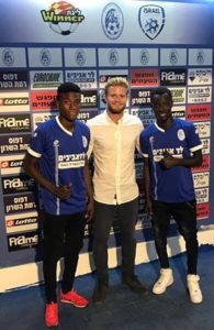 Ghanaian duo Oliver Amedor and Samed Adams join Israeli outfit Hapoel Ramat