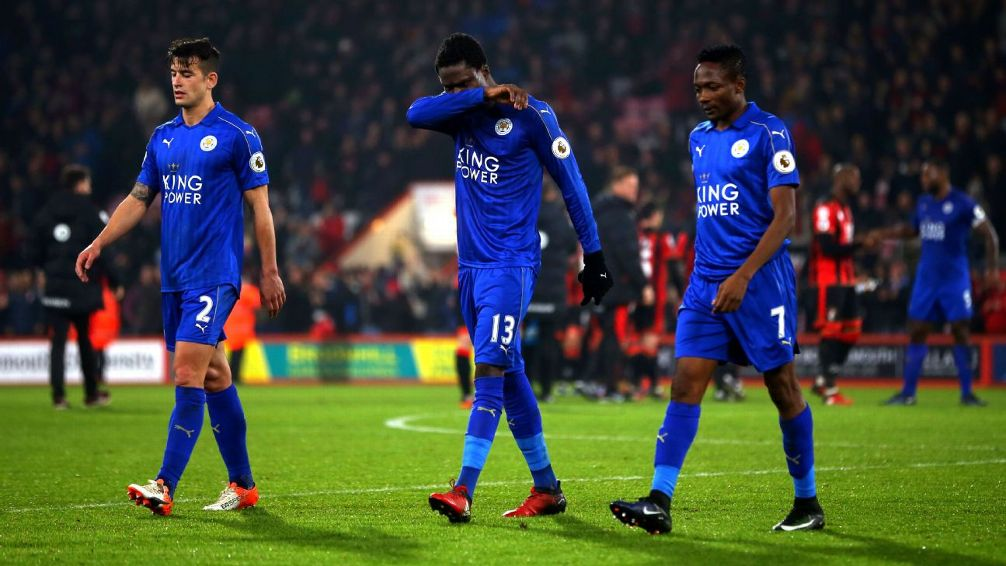 Daniel Amartey plays in Leicester City 2-1 loss to Liverpool in EPL Asian trophy