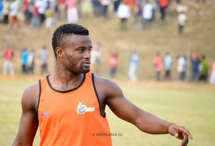 Medeama SC defender Amos Korankye reveals Hearts of Oak contact