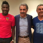 Video: Kayserispor new striker Asamoah Gyan receives massive welcome from fans