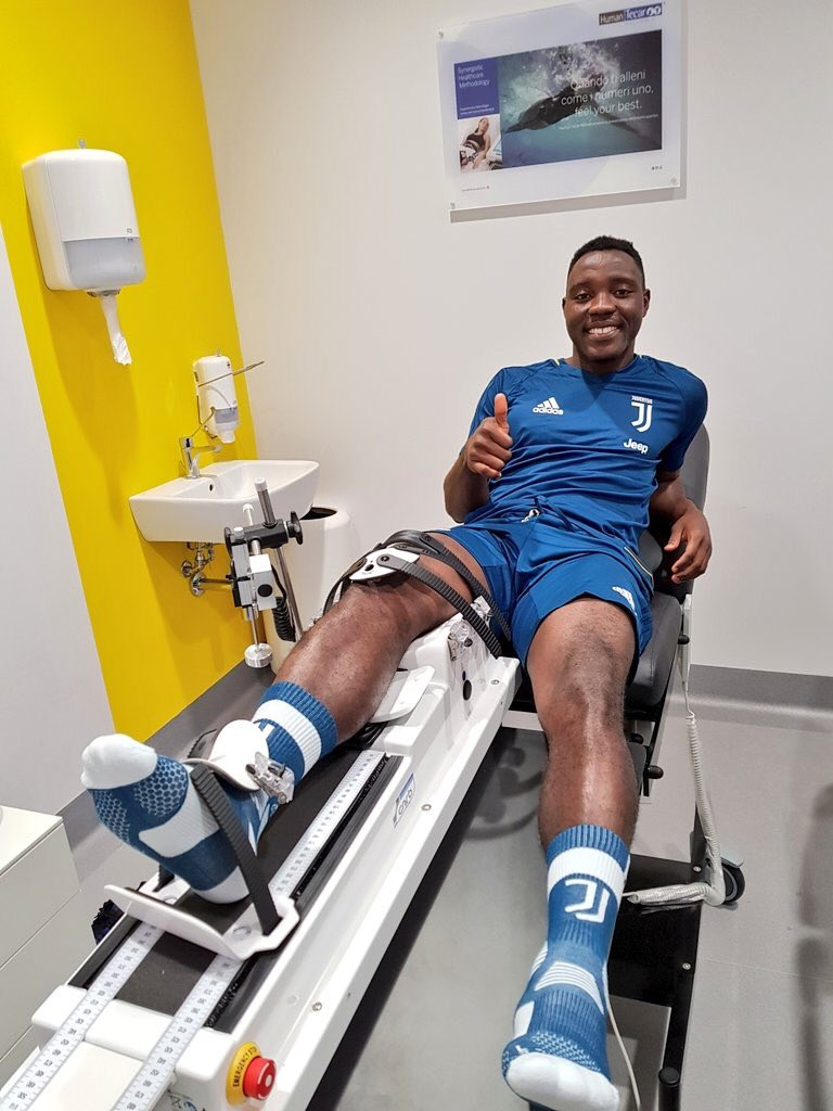 VIDEO: Juventus midfielder Kwadwo Asamoah intensifies pre-season training