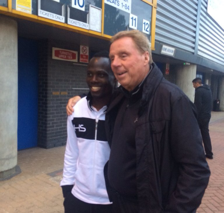 Birmingham City boss Harry Redknapp meets Emmanuel Agyemang Badu as rumours intensify