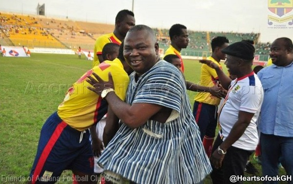 Aduana CEO Albert Commey: I knew we would win the title