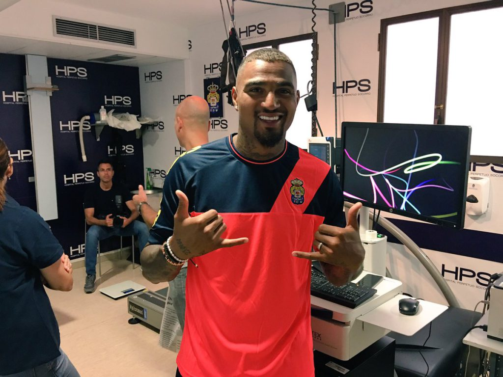 Ghana forward Kevin Boateng unhappy with Las Palmas pre-season training location